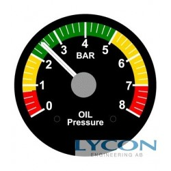 OIL PRESSURE GAUGE, VDO