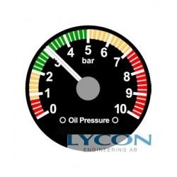 OIL PRESSURE GAUGE 4-20 mA
